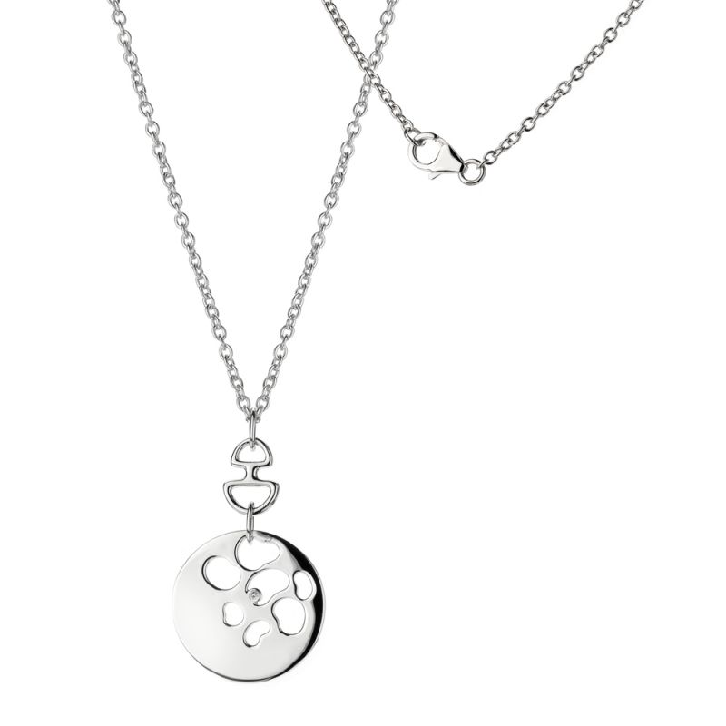 Image of Ladies Hot Diamonds Sterling Silver Selene Pendant