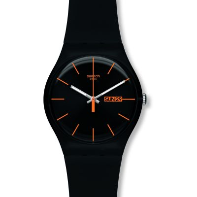 Unisex Swatch Dark Rebel Watch SUOB704