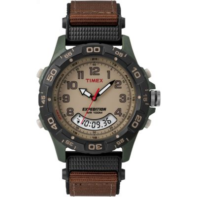 Timex Expedition Herrkronograf Brun T45181