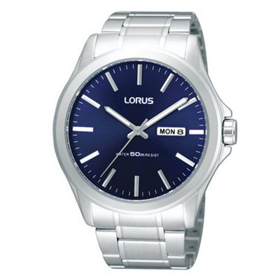Lorus Herrenuhr in Silber RXN65CX9