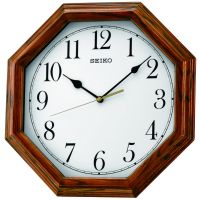 Seiko Clocks Wooden Wall QXA529B