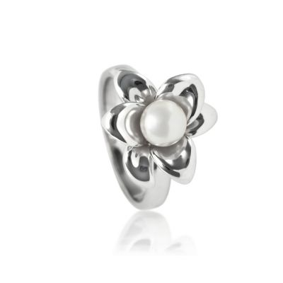 Bijoux Femme Jersey Pearl Pearl Lily Bague Size N 1/2 L01RW7