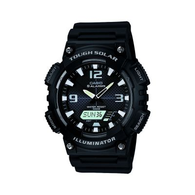 Casio Sports Herrenchronograph in Schwarz AQ-S810W-1AVEF
