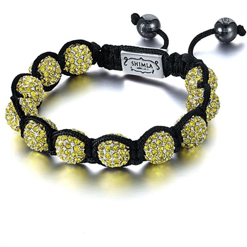 Shimla Stainless Steel Luxury Originals Yellow Bracelet Small SH-033S