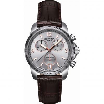 Mens Certina DS Podium Chronograph Watch C0014171603701