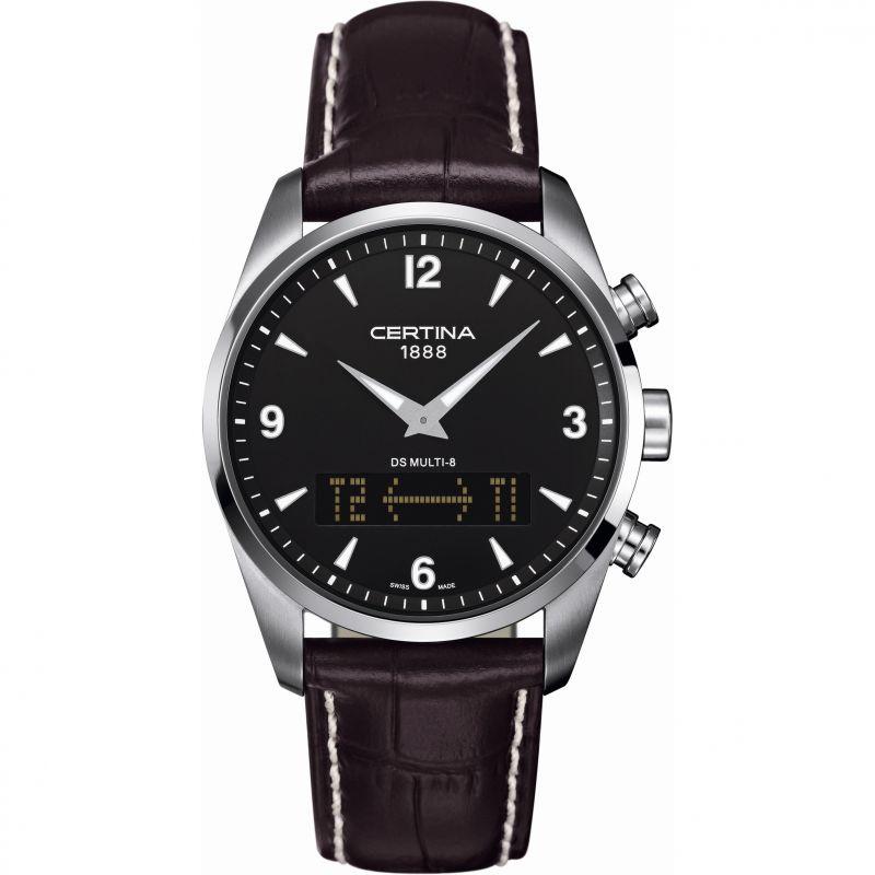 Mens Certina DS Multi-8 Alarm Chronograph Watch
