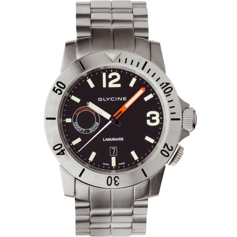 Mens Glycine Lagunare Auto Automatic Watch