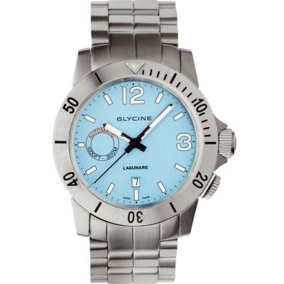 Mens Glycine Lagunare Auto Automatic Watch 3899.18-MB
