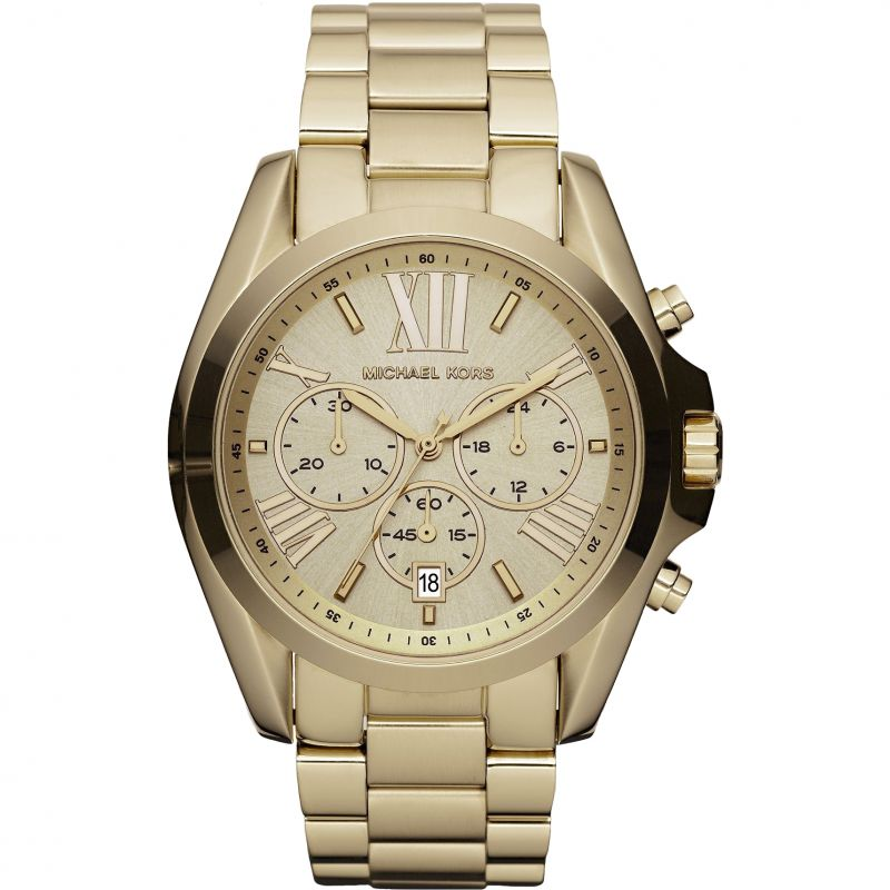 Ladies Michael Kors Bradshaw Chronograph Watch MK5605