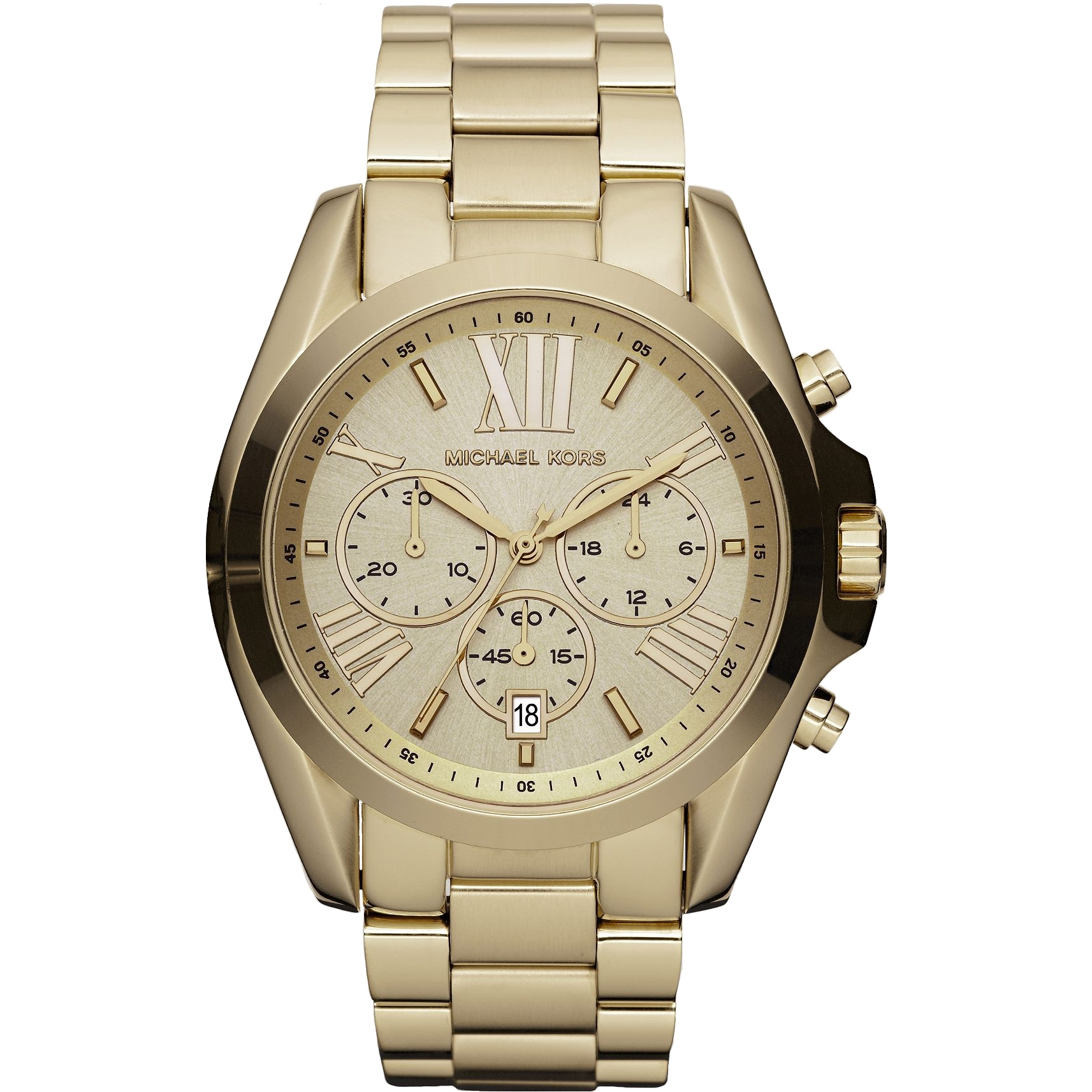 8e1d36cb9a97 Ladies Michael Kors Bradshaw Chronograph Watch (MK5605)