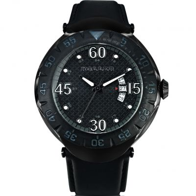 Montre Homme Holler Goldwax Black HLW2188-4