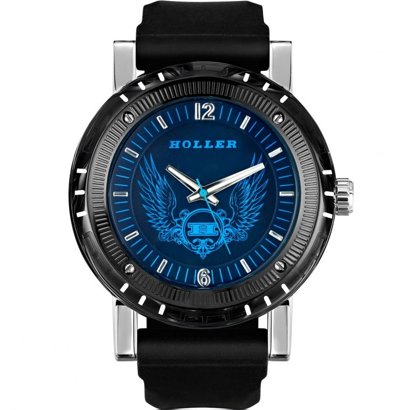 Mens Holler Black Magic Blue Watch