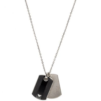 Mens Emporio Armani Stainless Steel Necklace EGS1542040