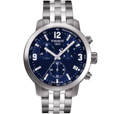 Mens Tissot PRC200 Chronograph Watch T0554171104700