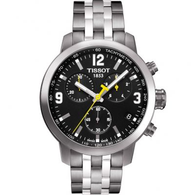 Tissot T-Sport PRC200 Herrenchronograph in Silber T0554171105700