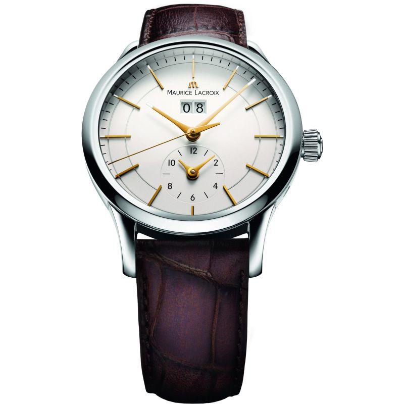 Mens Maurice Lacroix Les Classiques Grande Date GMT Automatic Watch