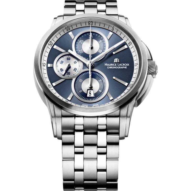 Mens Maurice Lacroix Pontos Automatic Chronograph Watch