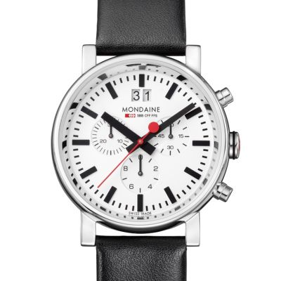 Montre Chronographe Homme Mondaine Swiss Railways A6903030411SBB