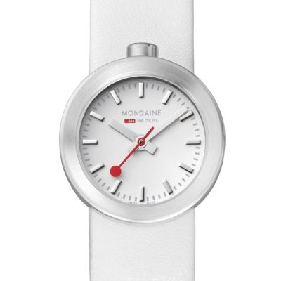 Mondaine Swiss Railways Aura Dameshorloge Wit A6663032416SBAA