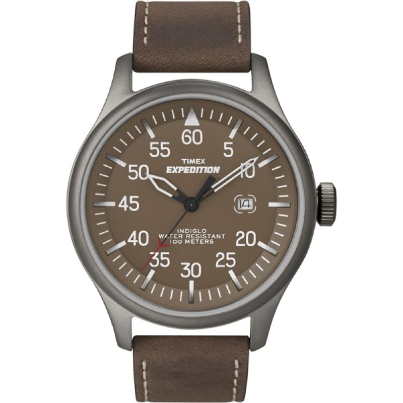 Mens Timex Indiglo Expedition Aviator Watch T49874