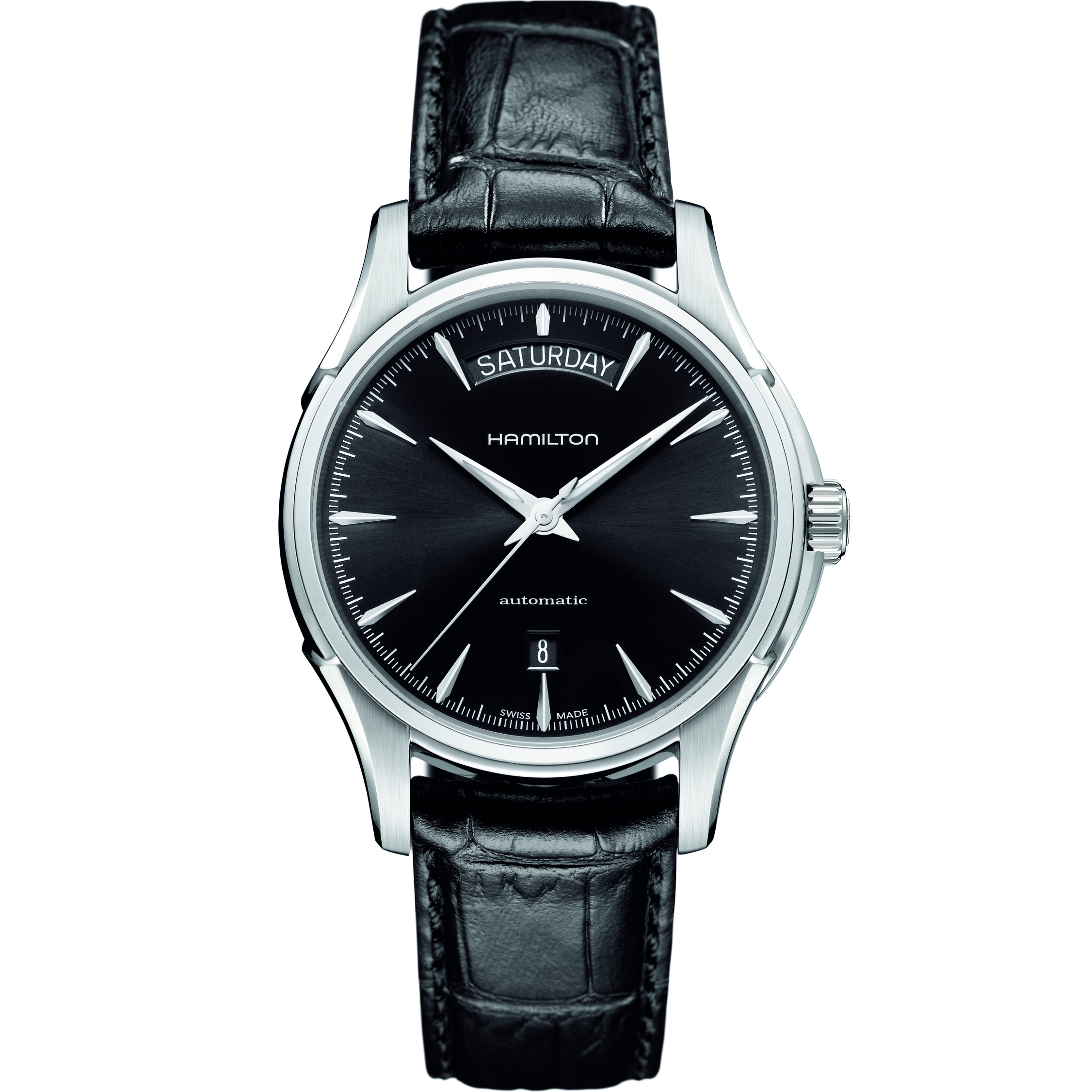 Gents Hamilton Jazzmaster Day Date Watch (H32505731)  44d0a1002f