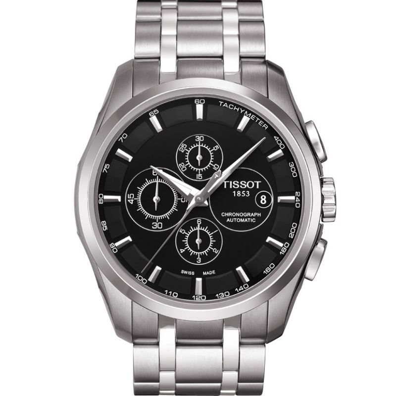 Mens Tissot Couturier Automatic Chronograph Watch T0356271105100