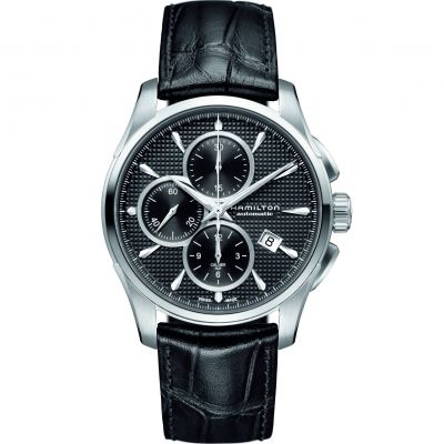 Mens Hamilton Jazzmaster Automatic Chronograph Watch H32596731