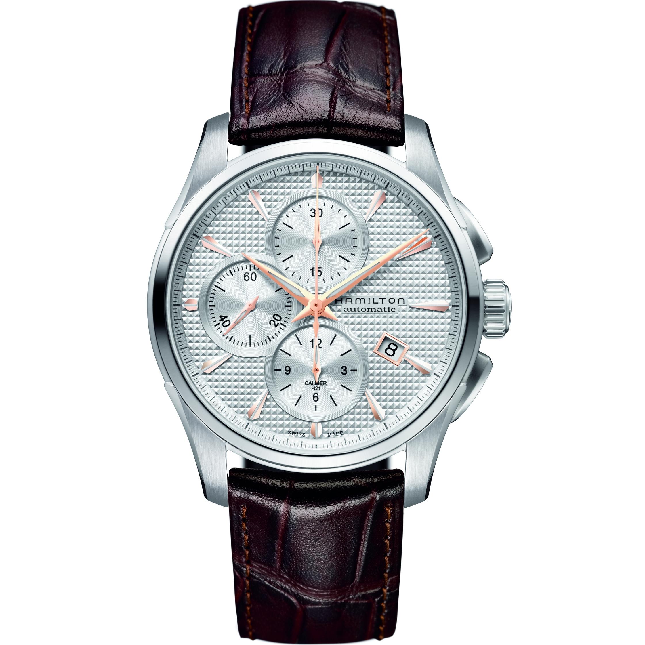 c54227fee Gents Hamilton Jazzmaster Chronograph Watch (H32596551) | WatchShop.com™