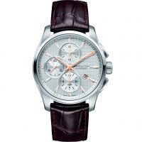 Mens Hamilton Jazzmaster Automatic Chronograph Watch H32596551