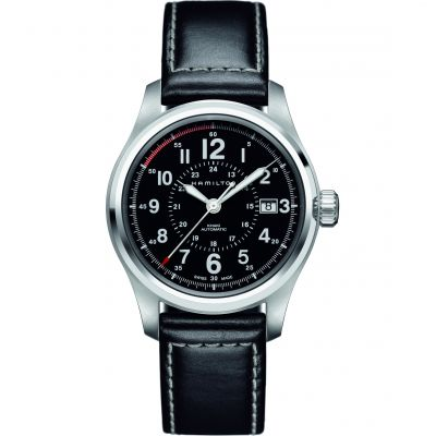 Hamilton Khaki Field 40mm Herrenuhr in Schwarz H70595733