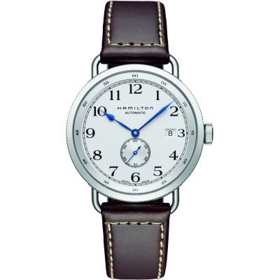 Mens Hamilton Khaki Navy Pioneer Automatic Watch H78465553