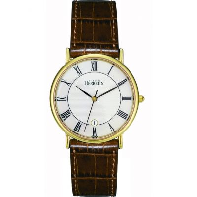 Mens Michel Herbelin Citadines Watch 12443/P08GO