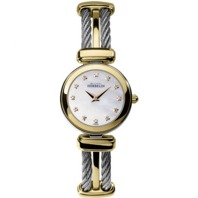 Ladies Michel Herbelin Cables Watch 17420/BT59