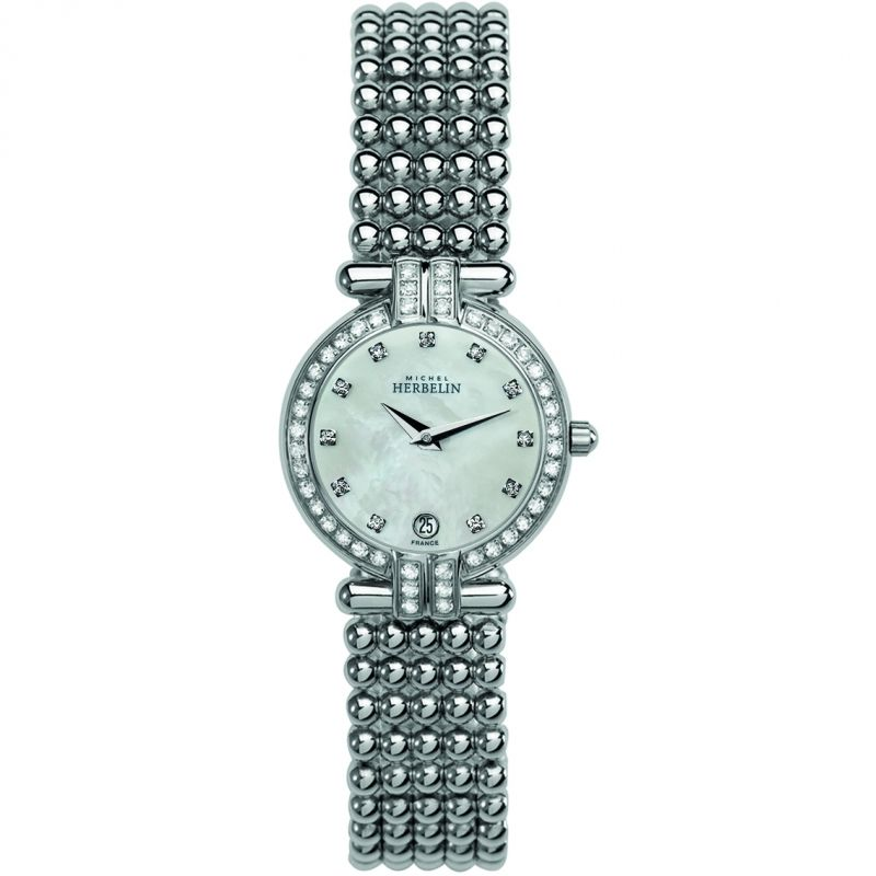 Ladies Michel Herbelin Perle Watch 16873/44XB59