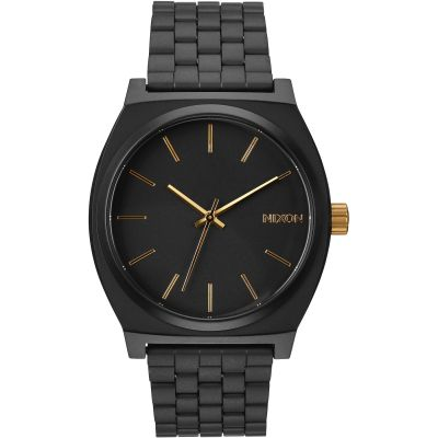 Nixon The Time Teller Herenhorloge Zwart A045-1041