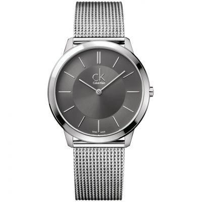 Mens Calvin Klein Minimal 40mm Watch K3M21124