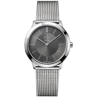 Mens Calvin Klein Minimal 35mm Watch K3M22124