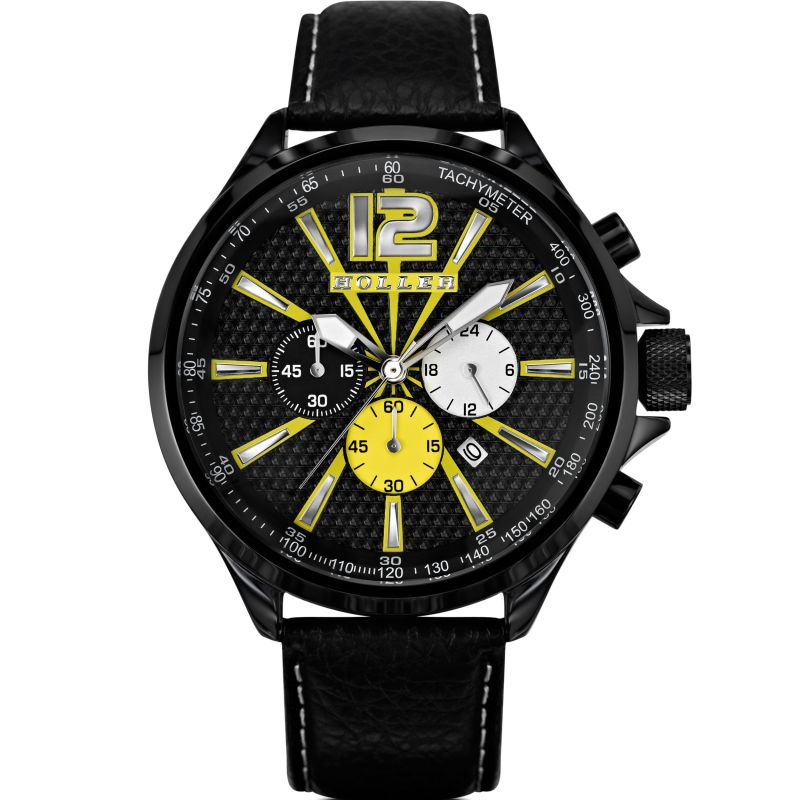 Mens Holler Psychedelic Chronograph Watch HLW2280-7