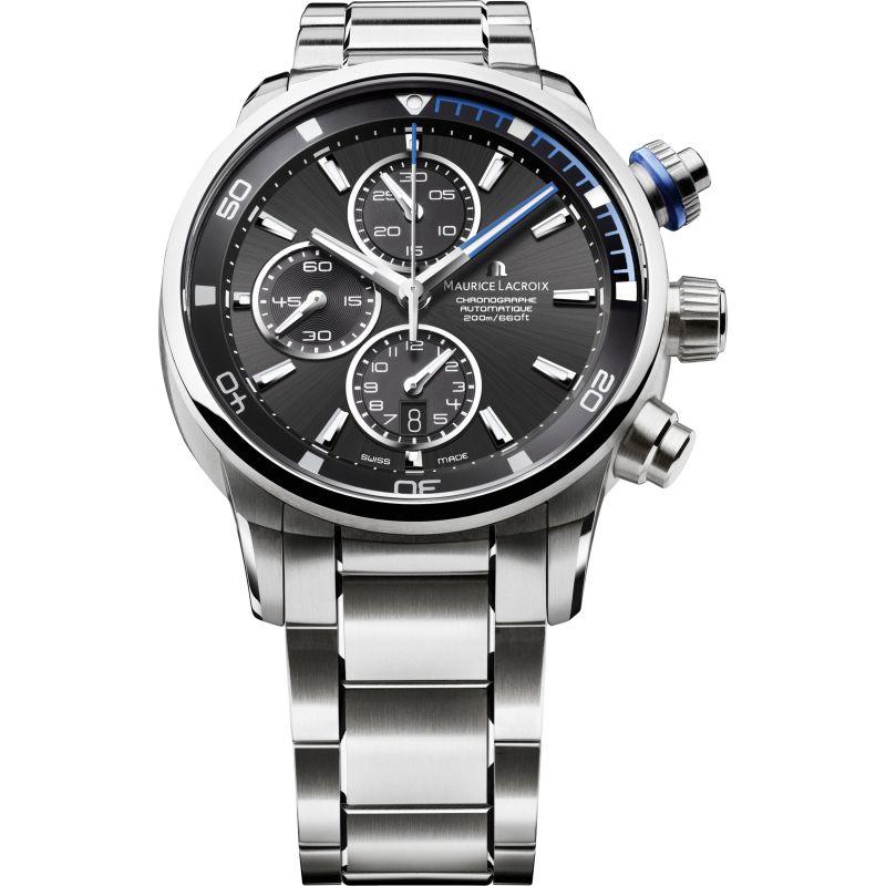 Mens Maurice Lacroix Pontos S Automatic Chronograph Watch