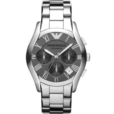 Mens Emporio Armani Ceramic Chronograph Watch AR1465