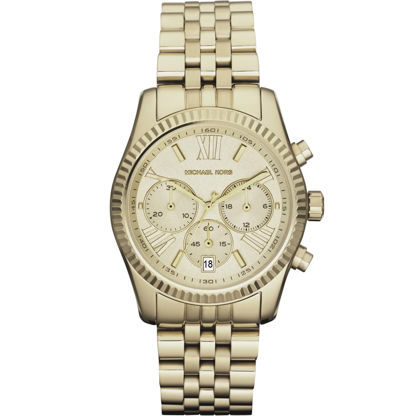 492e71b3a3ac Ladies Michael Kors Lexington Chronograph Watch (MK5556)