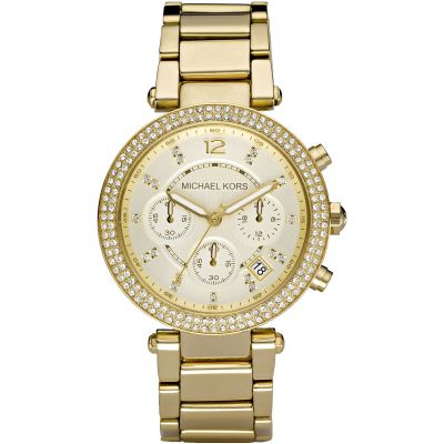 Ladies Michael Kors Parker Chronograph Watch MK5354