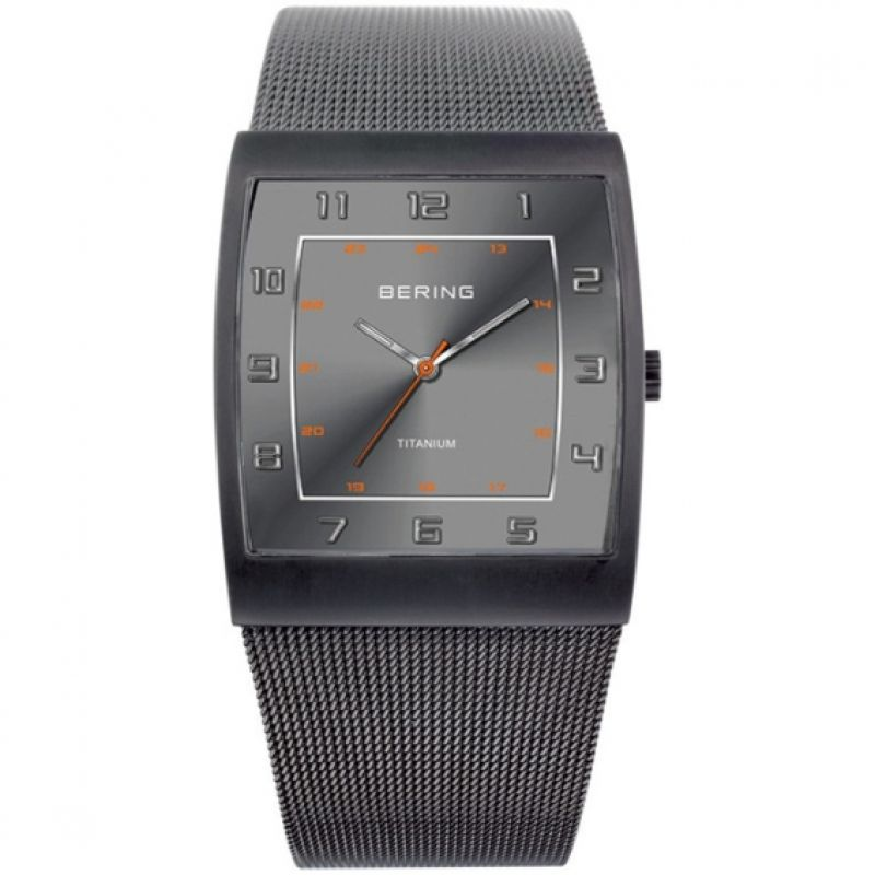 Mens Bering Titanium Watch
