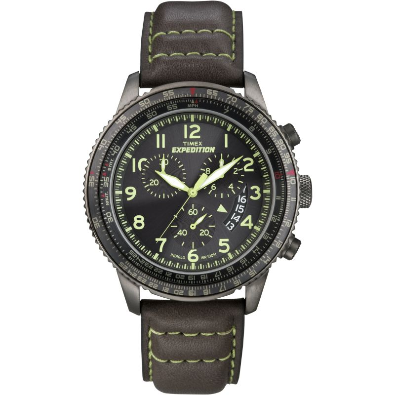 Mens Timex Expedition Chronograph Watch