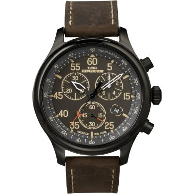 Timex Expedition Herenchronograaf Bruin T49905