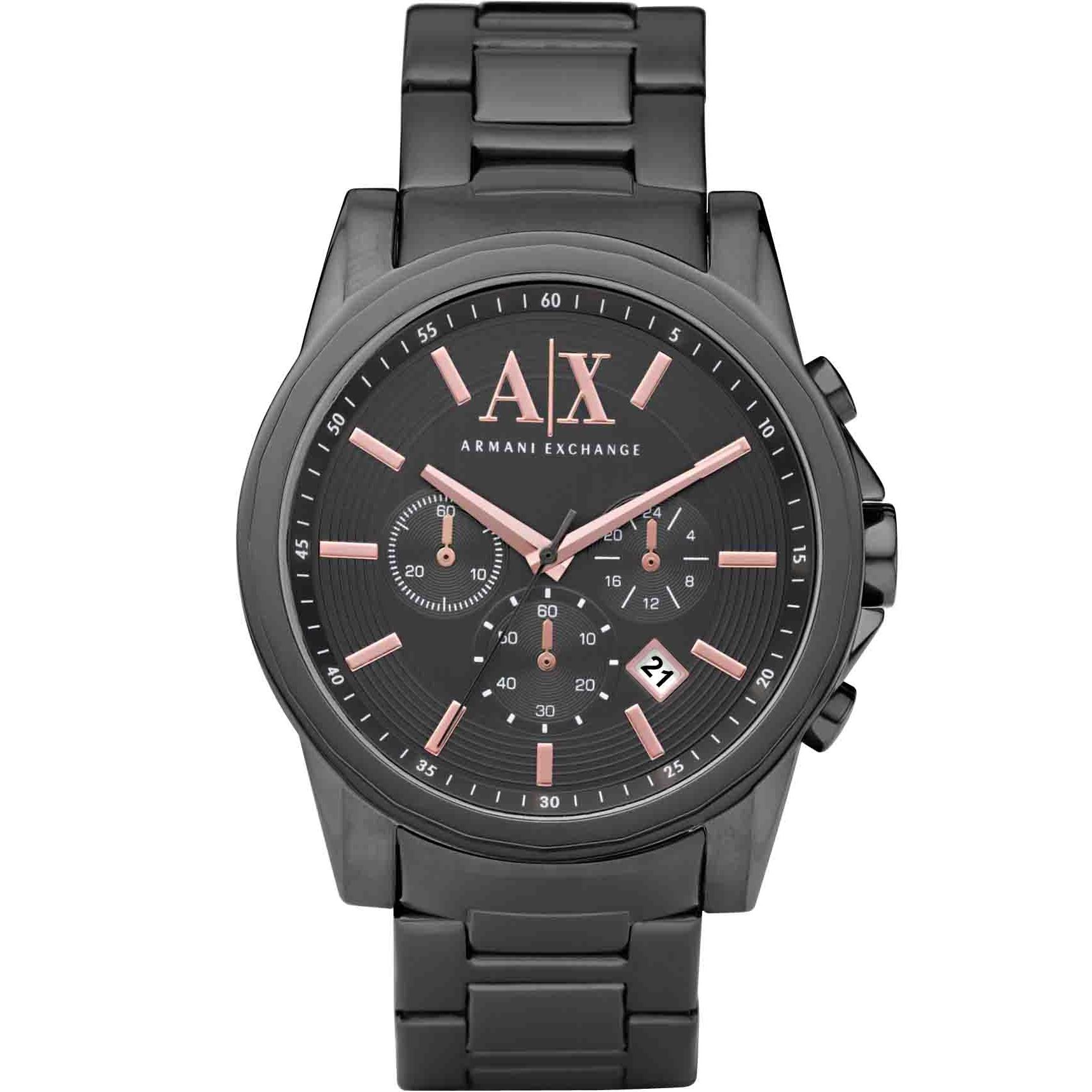 Gents Armani Exchange Chronograph Watch (AX2086)  c2dcbb0206