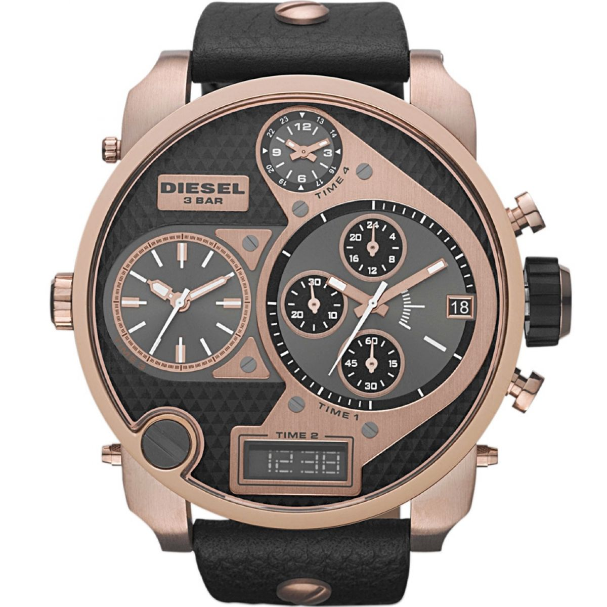 big watch chronograph gents com diesel mens plain daddy watchshop watches