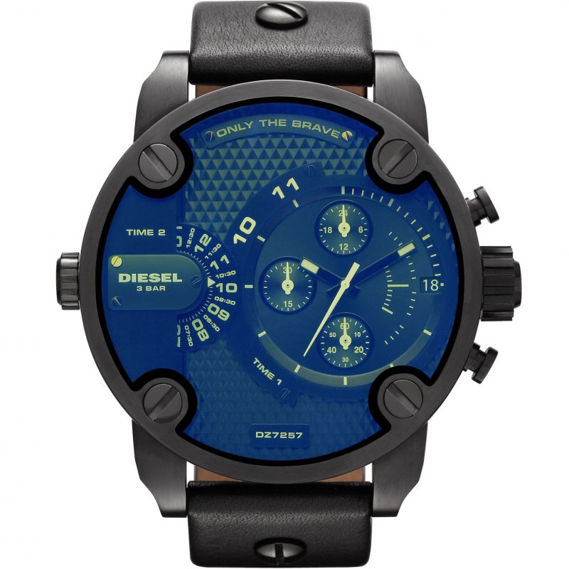 Mens Diesel Little Daddy Chronograph Watch DZ7257