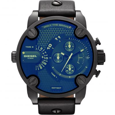 Diesel Little Daddy Herenchronograaf Zwart DZ7257