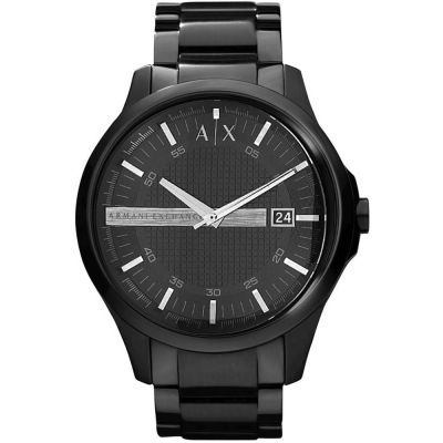 Armani Exchange Herrenuhr in Schwarz AX2104
